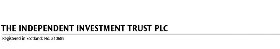The Independent Investment Trust PLC